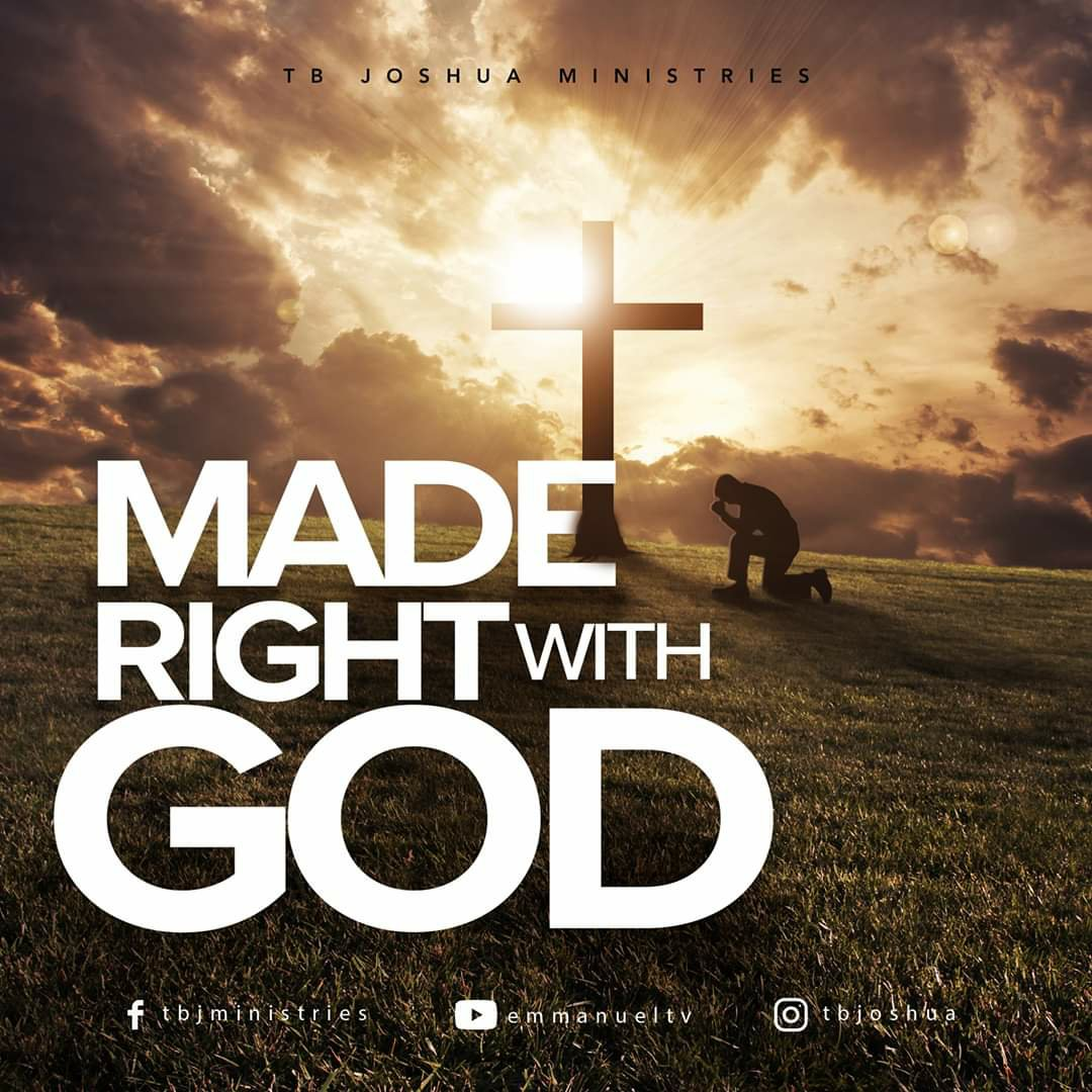 MADE RIGHT WITH GOD